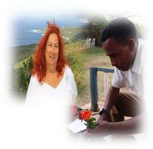 Mrs Claudia Berekhet and Dessale Berekhet  (1)